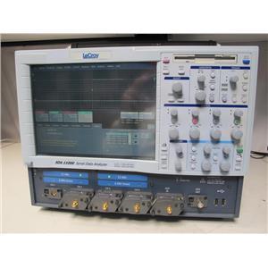 Lecroy SDA11000 11 GHz serial data analyzer, 6.25 Gb/s, Opt XL w/ 4 LPA-SMA