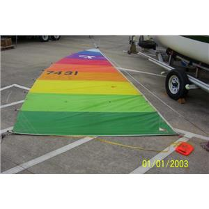 Full Batten Mainsail w 23-3 Luff from Boaters' Resale Shop of TX 1803 1574.91