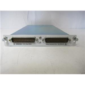 Agilent HP 34924A 70-Channel Reed Multiplexer for 34980A