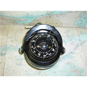 """Boaters' Resale Shop of TX 1803 1252.01 AIRGUIDE 4"""" LIGHTED COMPASS WITH MOUNT"""