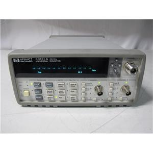 Agilent HP 53131A Universal Counter 225 Mhz, w/ 12.4 GHz channel
