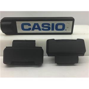 Casio Watch Parts G-2900 Loop Thru Lugs. Pair w/Spring Bars Black