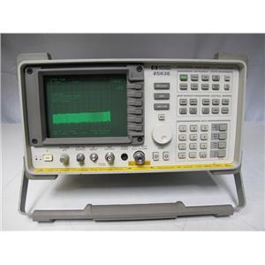 Agilent HP 8563E Spectrum Analyzer, 9kHz to 26.5GHz w/ 85620A Memory (ref: db)