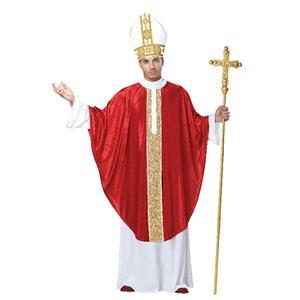 The Cardinal Pope Pontiff Adult Costume S/M 38-42