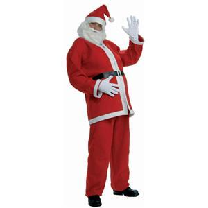 Simply Santa Adult Standard Economy Santa Claus Suit Costume