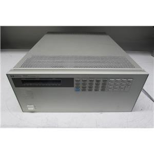 HP Agilent 6050A Electronic Load Mainframe, no module