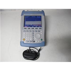 Rohde & Schwarz FSH6 Spectrum Analyzer 100 kHz to 6 GHz w/ Tracking Gen & PreAmp