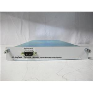 Agilent HP 34945A Switch/Attenuator Driver for 34980A