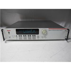 Keithley 3706A Switch Mainframe with a High Performance DMM