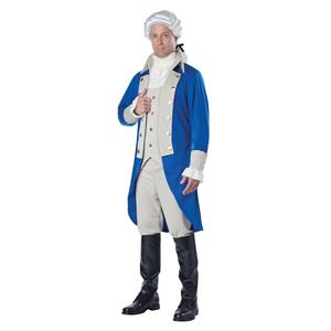 George Washington Adult Costume Size Small 38-40