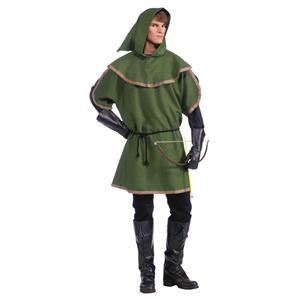 Sherwood Forest Adult Green Robin Hood Archer Tunic