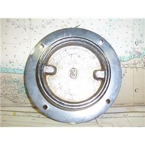 Boaters Resale Shop of TX 1803 2277.51 THREE INCH CHROME DECKPLATE ASSEMBLY