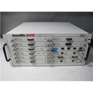 Spirent Smartbits SMB-6000B Data Traffic Generator, 12-slot chassis w/ 12 module