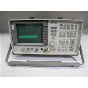 Agilent HP 8563E Spectrum Analyzer, 9kHz to 26.5GHz, type N (ref: db)