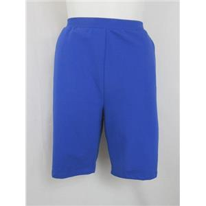 Denim & Co. Size 2X Vibrant Blue Stretch French Terry Shorts
