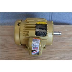 Baldor Reliance 1Hp Super E Motor, 3Ph, 208-230/460V, 3500 RPM, 143T Frame