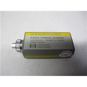 Agilent HP 8487A Power Sensor, 50 MHz to 50 GHz, -30 to +20 dBm
