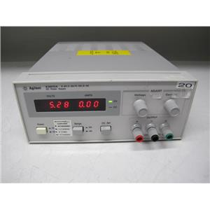 Agilent E3610A 30W Power Supply, 8V, 3A or 15V, 2A
