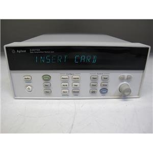 Agilent HP 34970A Data Acquisition Switch Unit w/ DMM