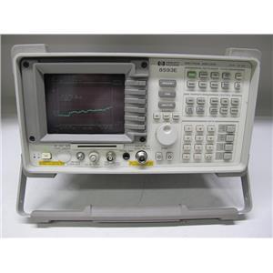 Agilent HP 8593E Spectrum Analyzer, 9 KHz - 22 GHz, Opt 041
