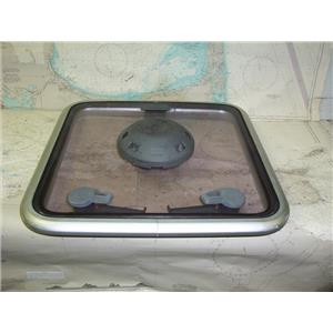 """Boaters Resale Shop of TX 1803 0421.04 LEWMAR 17.4"""" x 17.4"""" TINTED HATCH & VENT"""