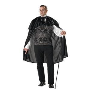 Victorian Vampire Adult Costume Plus Size XXL 48-52