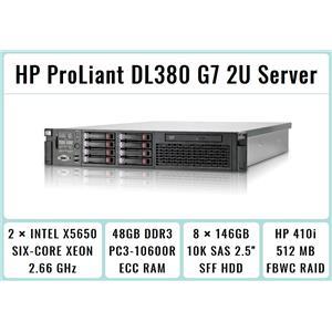 EXSi VMware Virtualization Server X5650 12-Cores 48GB RAM 8x146GB SAS P410 RAID