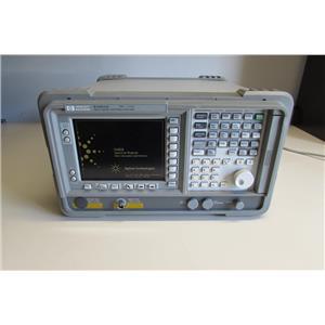 HP Agilent E4401B ESA-E Spectrum Analyzer,1 MHz to 1.5 GHz,w/ options,Calibrated
