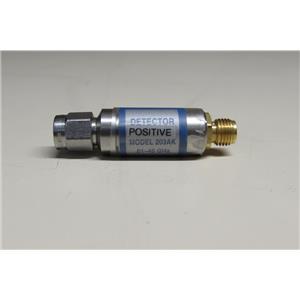 Krytar 203AKP Zero Bias Schottky Detector, 10 MHz to 40 GHz, 2.92mm (m)