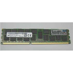 HP 672612-181 | Micron MT36JSF2G72PZ 16GB 2Rx4 PC3-12800R DDR3 Memory RAM