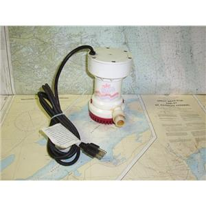 Boaters' Resale Shop of TX 1804 2052.56 RULE MODEL A53S 110 VOLT PUMP 1800 GPH