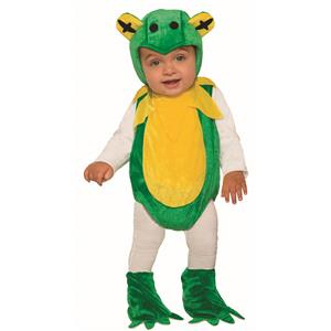 Fresh Froggie Child Infant 12-24 Toad Halloween Costume