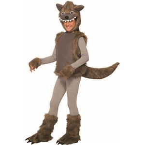 Wee Wolf Child Toddler 2-4T Werewolf Halloween Costume