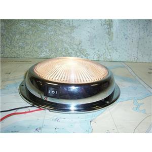 """Boaters Resale Shop of TX 1804 2051.51 DR. LED MARS 6-3/4"""" CABIN 12V DOME LIGHT"""