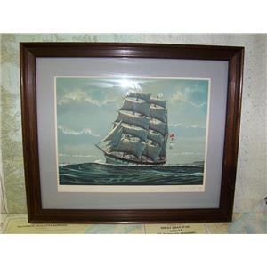 "Boaters' Resale Shop of TX 1803 2252.02 RICHARD LINTON""FAIR WIND OF AUSTRALIA"""