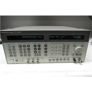 Agilent HP 8665A Synthesized Sweeper 0.1 - 4200 MHz, Opt 010 (ref: db)