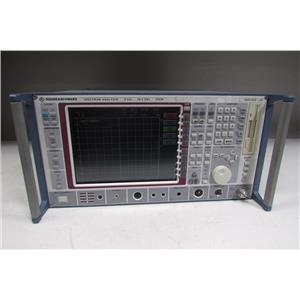 Rohde & Schwarz FSEM Spectrum Analyzer, 20Hz-26.5GHz,1080.1505.20, opt B15