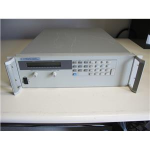 Agilent HP 6671A  #J08 0-3V, 0-300A System DC Programmable Power Supply w/ GPIB