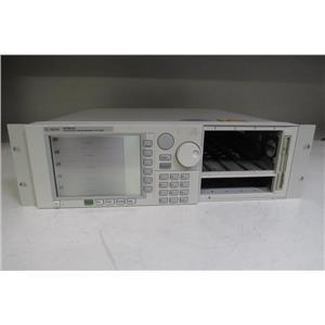 Agilent 8164A Lighwave Measurement System Mainframe