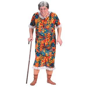 Groppin' Granny Novelty Funny Old Lady Flasher Costume Risque