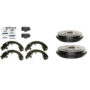Durnago Dakatoa Brake Drum Shoes Wheel cyl Spring Kit 11 inch brakes 1998-2002