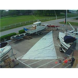 Mainsail w 43-4 Luff from Boaters' Resale Shop of TX 1801 0724.93