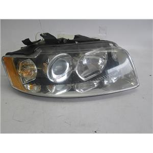 Audi A4 right side headlight 8E0941004B BROKEN TABS 03-05