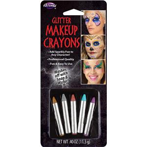Glitter Makeup Crayons Face Paint