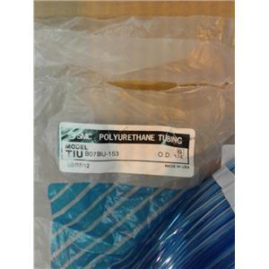 "Smc TIU B07BU-153  Blue Polyurethane Tubing Hose 1/4""Od (About) 500' Package"