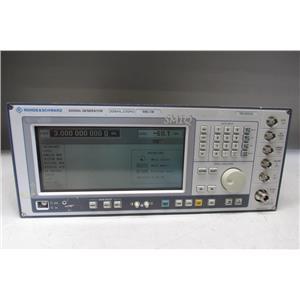 Rohde & Schwarz SMIQ03B 3GHz Signal Generator opt B1 B11 B20 B42 B45