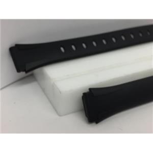 Casio Watch Band LW-203 Lds Illuminator WR50m Original Blk Resin Strap.Watchband