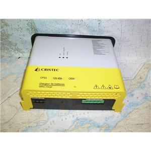 Boaters' Resale Shop of TX 1806 0447.92 CRISTEC CPS3OEM 40 AMP BATTERY CHARGER