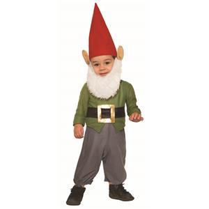 Garden Gnome Child Infant 12-24 Halloween Costume