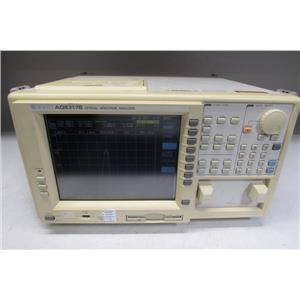 ANDO AQ6317B Optical Spectrum Analyzer, Just calibrated